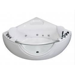 Banio whirlpool hoekbad Bolivo 140x140cm