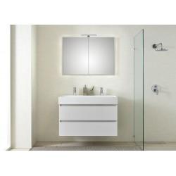 Pelipal meuble de salle de bain avec armoire miroir Bali101 - blanc