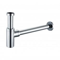 Banio siphon design pour lavabo 5/4 - chrome