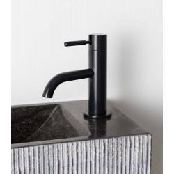 Robinet d'eau froide design Mil noir mat