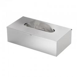 Gedy boîte à mouchoirs en acier - chrome brossé