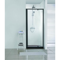 Porte de douche Banio-Urian Noir - 820-920x2000mm
