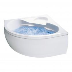 Banio baignoire d'angle en acrylique 130x130cm
