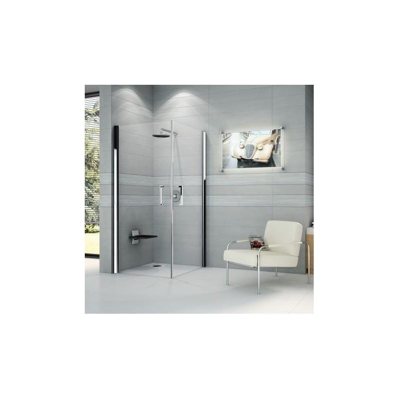 novellini giada 2g 2 portes ouvrantes 75 dimension extensible de 75 78 cm verre trempe. Black Bedroom Furniture Sets. Home Design Ideas