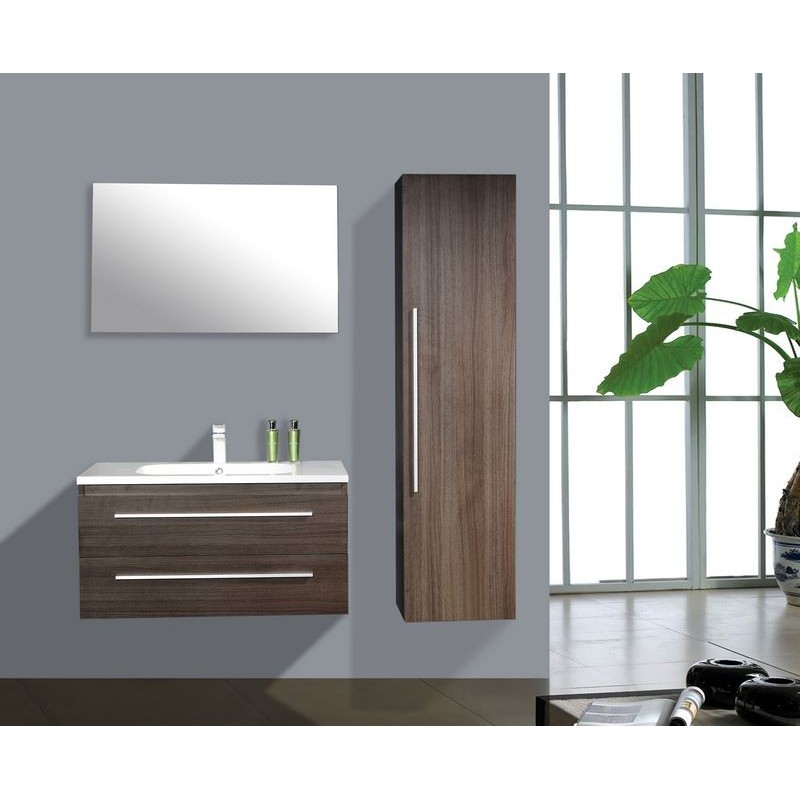 meuble de salle de bain bilbao de 90 cm sa bilbao 90. Black Bedroom Furniture Sets. Home Design Ideas