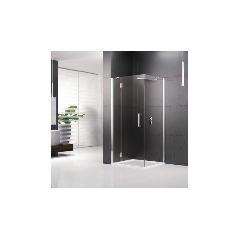 novellini louvre panneau fixe 70 verre trempe transparent silver louvrf70 1b. Black Bedroom Furniture Sets. Home Design Ideas