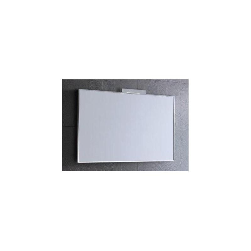 Spiegel alu 100x60 cm element for Spiegel 100x60