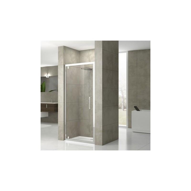 novellini rose g 78 porte extensible de 78 84 cm verre trempe transparent. Black Bedroom Furniture Sets. Home Design Ideas