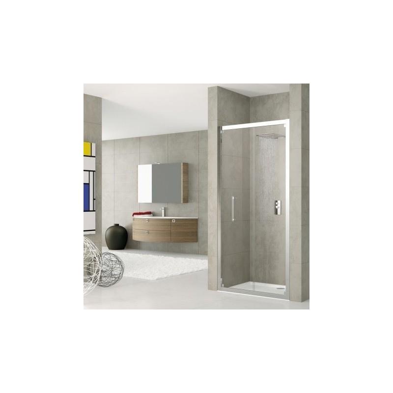novellini rose s 78 porte pliante dimension extensible de 78 84 cm vitrage satin silver roses78 4b. Black Bedroom Furniture Sets. Home Design Ideas