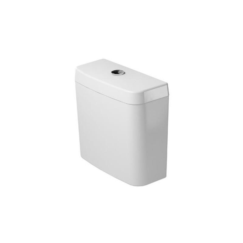 RESERVOIR DURAVIT D-CODE blanc avec commande duo alimentation laterale ou en bas