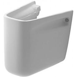 CACHE SIPHON DURAVIT D-CODE blanc pour lavabo