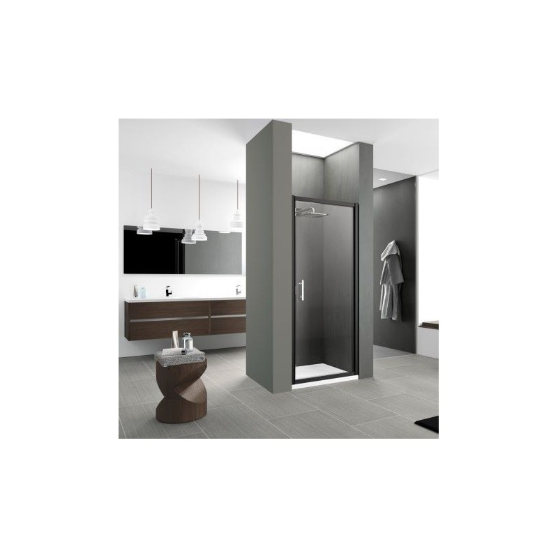 novellini zephyros g 86 porte extensible de 86 92 cm vitrage gris silver. Black Bedroom Furniture Sets. Home Design Ideas