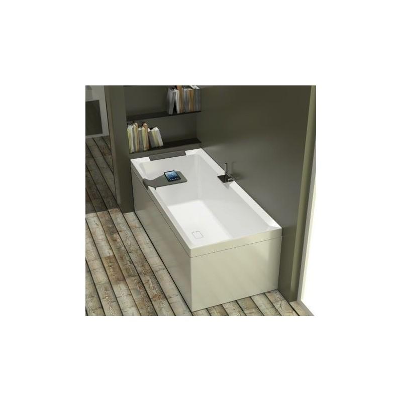 novellini diva 170x75 avec cadre avec robinetterie sur la baignoire blanc 3 tabliers finition burlington Résultat Supérieur 18 Incroyable Baignoire Avec Robinet Galerie 2018 Hiw6