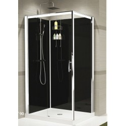 cabine de douche novellini verdi 2p 120 ver2p12. Black Bedroom Furniture Sets. Home Design Ideas