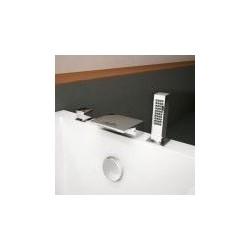 novellini calos 160x70 avec chassis vidange automatique avec robinetterie sur la baignoire blanc. Black Bedroom Furniture Sets. Home Design Ideas