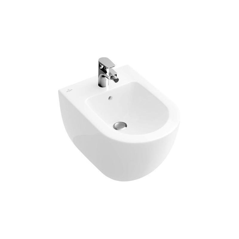villeroy boch subway 2 0 bidet compact blanc 54060001. Black Bedroom Furniture Sets. Home Design Ideas