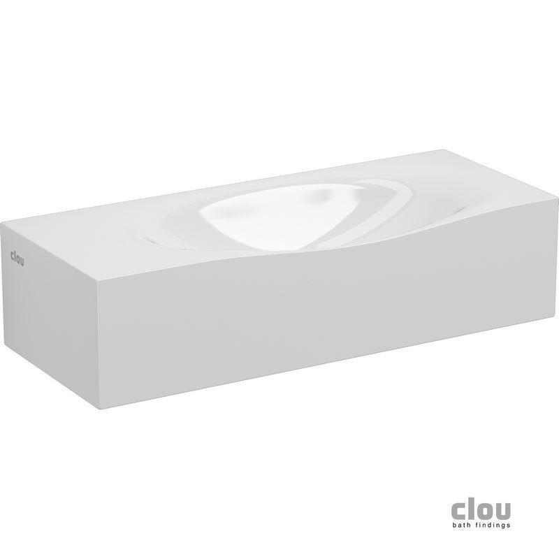 Hammock lave-mains  45 marbre minéral CLOU