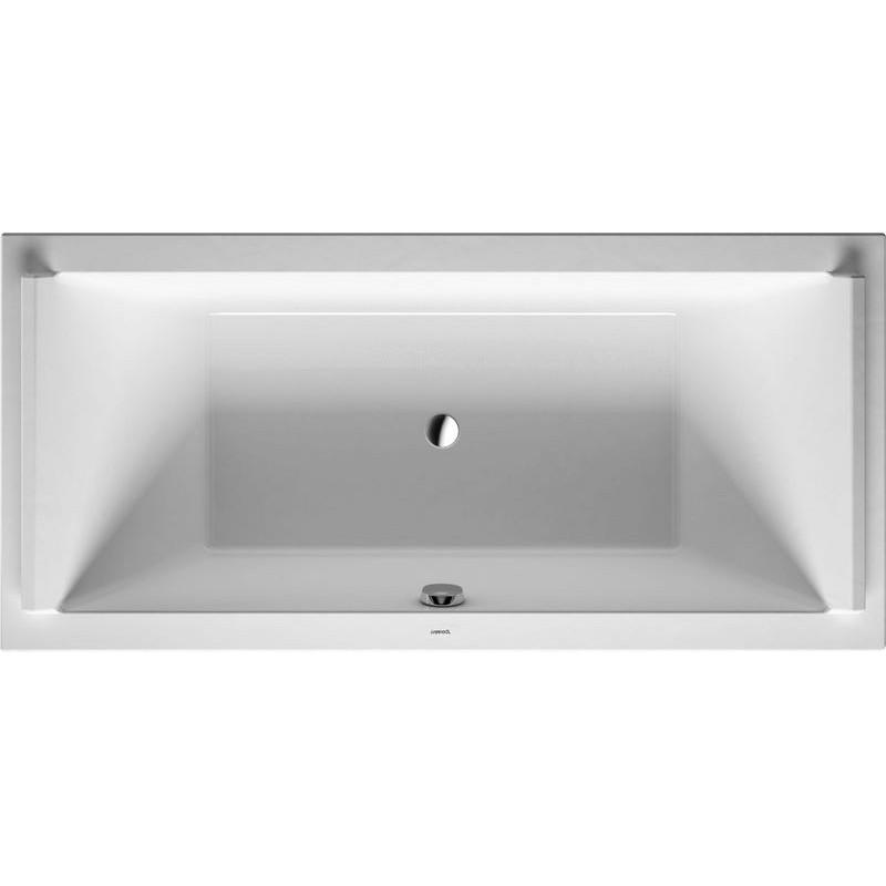duravit baignoire starck 1900x900mm blanc a encastrer. Black Bedroom Furniture Sets. Home Design Ideas