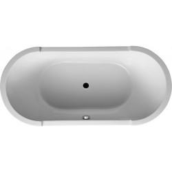 duravit baignoire starck ovale 1900x900mm blanc en ilot tablier acryl 700012000000000. Black Bedroom Furniture Sets. Home Design Ideas
