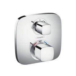 Hansgrohe Ecostat E thermostatique encastré avec robinet d'arrêt et inverseur pour 2 systèmes